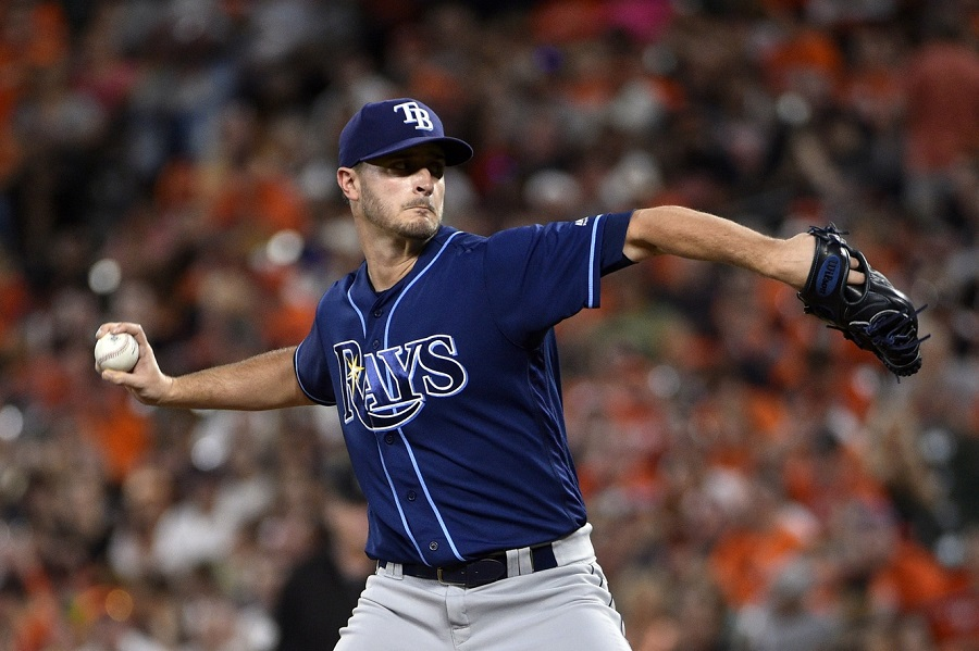 Twins Acquire Odorizzi As Rays Tear Down
