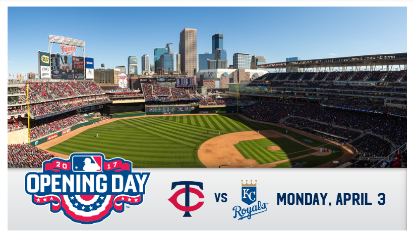 2017 Minnesota Twins Opening Day Roster - Where to, Park?