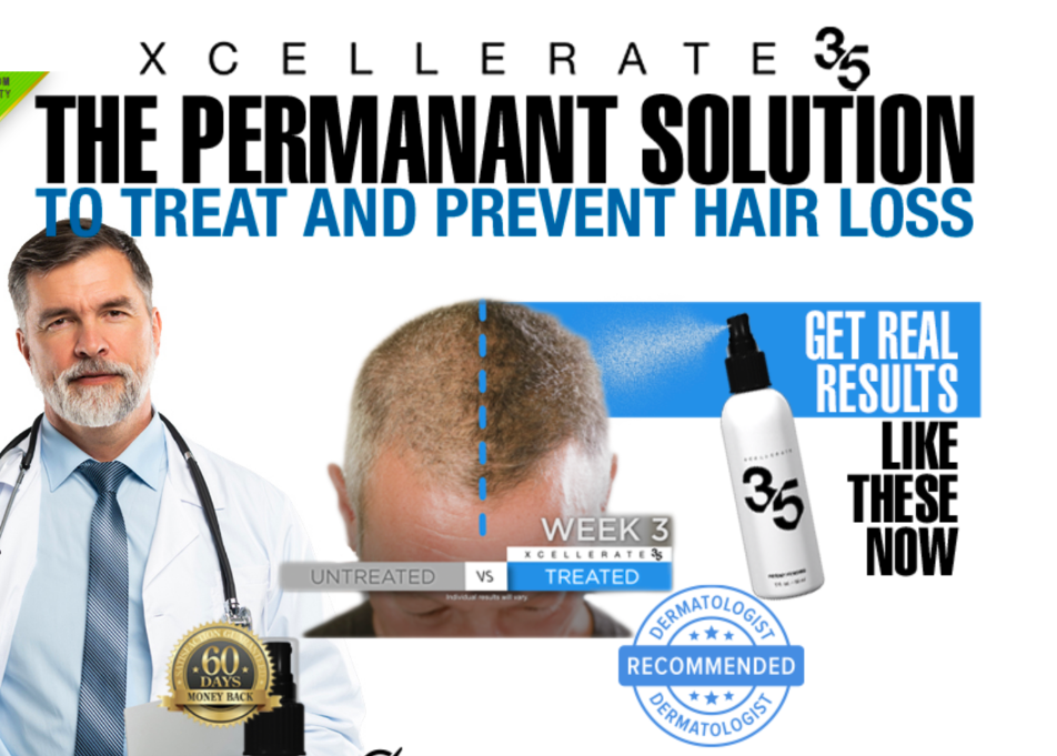 Xcellerate 35 - How To Repair Your Dry And Damaged Hair