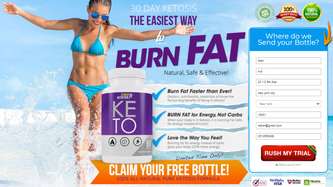 Strive Nutrition Keto: Review, Health, Good Fitness, Side-Effect, Benefits, #Price, & Buy ?