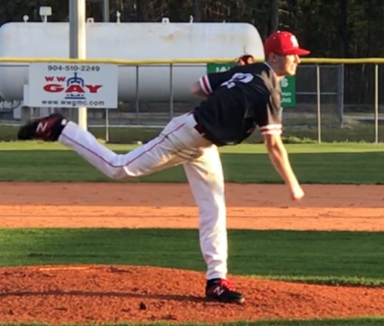My Son Pitching