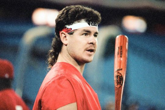 Mitch Williams mullet