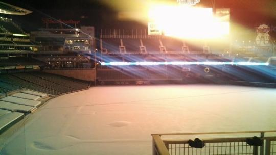 Attached Image: Target Field Snow.jpg