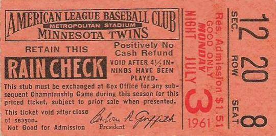 Attached Image: 1961-Twins-ticket-rain-check-stub.jpg