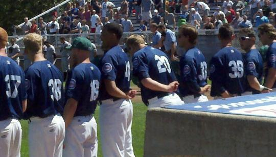 Attached Image: National Anthem by Dugout.jpg