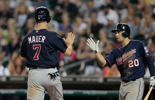 Attached Image: joe-mauer-and-brian-dozier.jpg