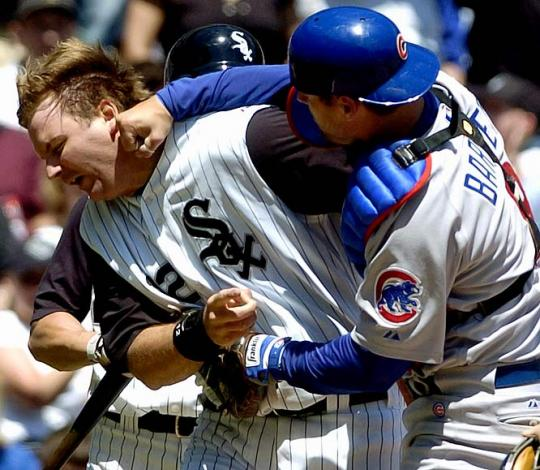 Attached Image: pierzynski-barrett.jpg