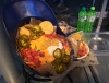 Man Forced To Finish Batting Helmet Full Of Nachos After Girlfriend Only Eats Three Chips