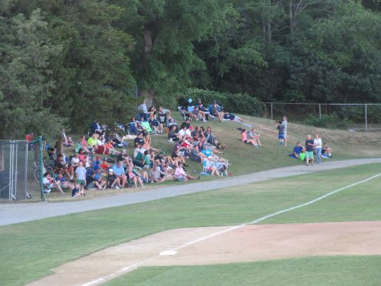 Left Field foul territory seating