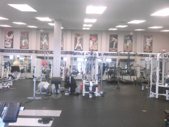 Twins New Weightlifting Room