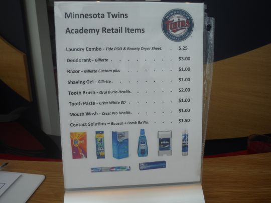 The Cost of Amenities at the Complex