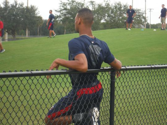 Byron Buxton just chilling