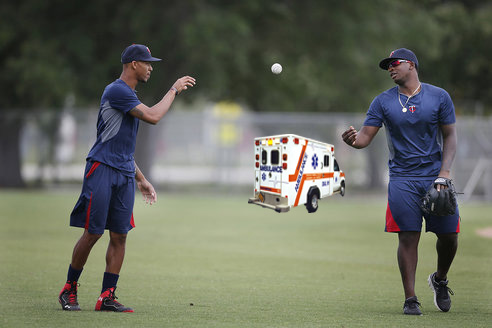 #11 Byron Buxton & Miguel Sano: Stay within 100 feet of an ambulance at all times.