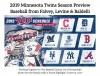 2019 Minnesota Twins Season Preview Baseball from Falvey, Levine & Baldelli